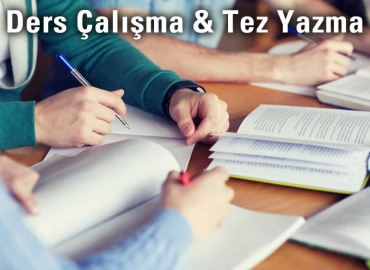 izmir-ders-calisma-tez-yazma